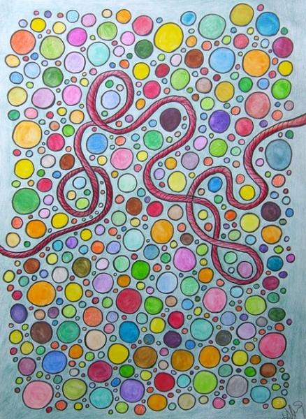 """Serie das rote Seil: """"Bubbles"""""""